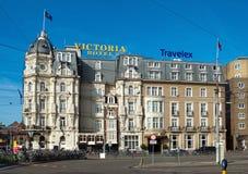 Amsterdam - Victoria Hotel Stock Images