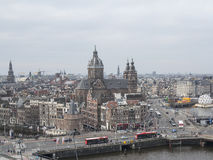 Amsterdam view Royalty Free Stock Images