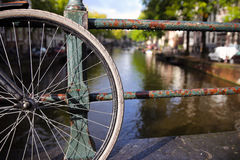 Amsterdam view Stock Photography