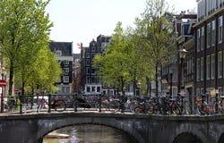 Amsterdam views Stock Photography