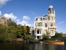 Amsterdam villa Royalty Free Stock Image