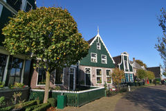 Amsterdam Village Landscape Stock Photography