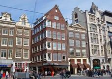 Amsterdam - vista della città di Amsterdam Fotografie Stock