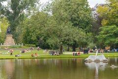 amsterdam Vondelpark Fotografia Stock