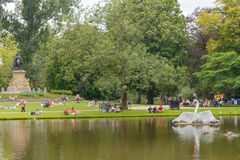Amsterdam Vondelpark Stock Fotografie