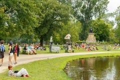 amsterdam Vondelpark Immagini Stock