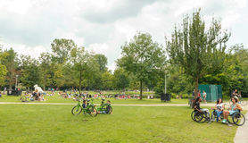 Amsterdam Vondelpark Royalty-vrije Stock Fotografie