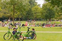 amsterdam Vondelpark Fotografie Stock Libere da Diritti