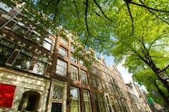 Amsterdam w lecie obraz stock