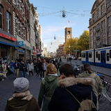 Amsterdam wakacje Obrazy Royalty Free