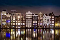 Amsterdam water reflection Royalty Free Stock Photos