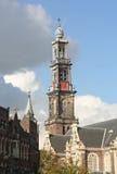 Amsterdam Wester Church Stock Image