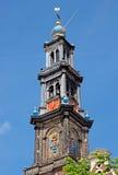 Amsterdam - Wester Tower - Westerkerk Stock Image