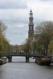 Amsterdam Westerkerk Stock Images