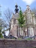 Amsterdam Western Church 2003 Stock Photo