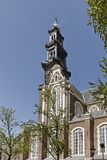 Amsterdam, Western Church, Holland Royalty Free Stock Photography