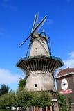 Amsterdam wiatraczek I browar holandie Obrazy Royalty Free