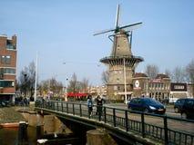Amsterdam-Windmühle Lizenzfreie Stockfotos