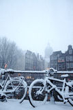 Amsterdam Winter Stock Image