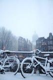 Amsterdam Winter Stock Image