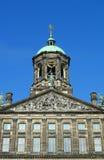 amsterdam zegarowego pałac królewski wierza Obraz Royalty Free