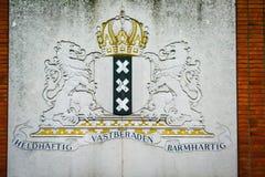 Amsterdam znak Obraz Stock
