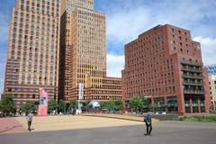 Amsterdam zuidas Royalty Free Stock Image