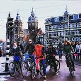 AmsterdamCity Arkivbild
