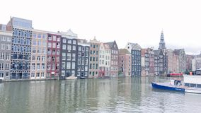 Amsterdams. Canal houses in dutch & x28;grachtenpanden& x29 royalty free stock photos