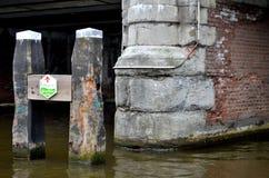 Amsterdams cannals Arkivfoton