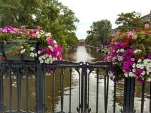 Amsterdamsbruggen Royalty-vrije Stock Afbeeldingen