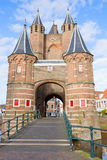 The Amsterdamse Poort, Haarlem, Holland Royalty Free Stock Images