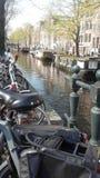 Amsterdan rowery Obraz Royalty Free