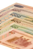 Amtliches Bargeld von Byelorußland Lizenzfreies Stockbild