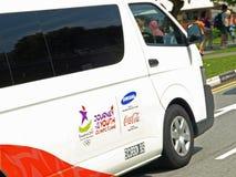 Amtliches Fahrzeug Singapur-YOGS Stockfotografie