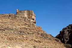 Amtoudi fortified granaries Stock Photography
