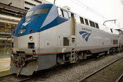 Amtrak Acela Express train,. Union Station, Washington, D.C stock image