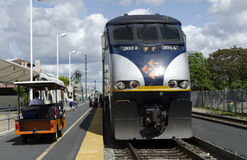 Amtrak California Train Stock Image