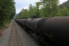 Amtrak through Montana Royalty Free Stock Photography