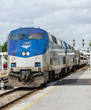 Amtrak Silver Meteor Train Orlando Stock Images