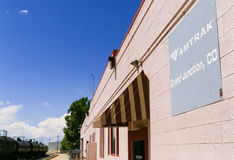 Amtrak Station in Grand Junction Stock Photos