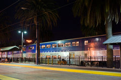 Amtrak Stillahavs- Surfliner Royaltyfria Foton