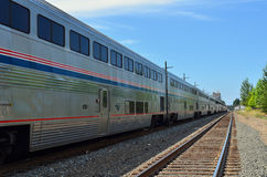 Amtrak Train Stock Photo