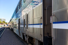 Amtrak Train Car Royalty Free Stock Photography