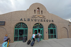 Amtrak train station in Albuquerque, New Mexico Stock Images
