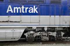 Amtrak Trains Stock Image