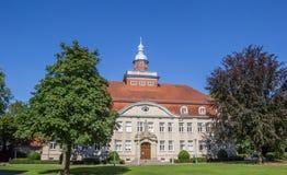 Amtsgericht nel parco della città in Cloppenburg fotografie stock libere da diritti