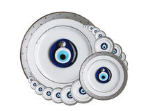 Amulet Against the Evil Eye. The clip art of amulets against the evil eye Stock Photo
