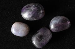 Amulet Amethyst Stone. Ready to Make Handmade Jewelry stock images
