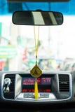 Amulet in auto Royalty-vrije Stock Afbeelding